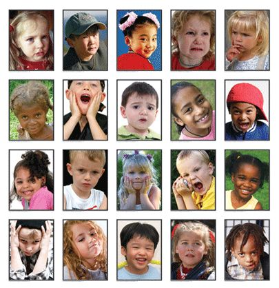 kids emotion faces | The fleeting alterations in visual, nonverbal communication, implies ...