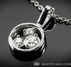 34 best ideas 4 my 3 stone gold band images on pinterest diamond pendant with 3 diamond stones mozeypictures Images