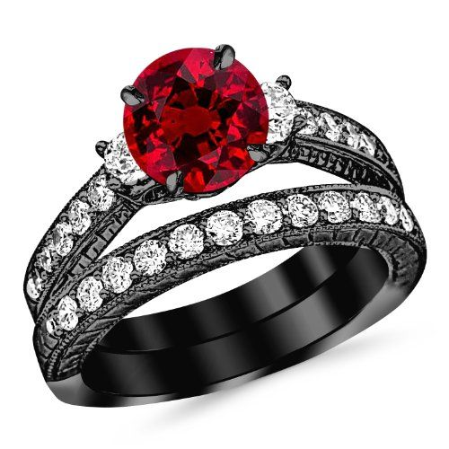 Vintage Wedding Rings for Romantic Gifts on Valentine's Day.