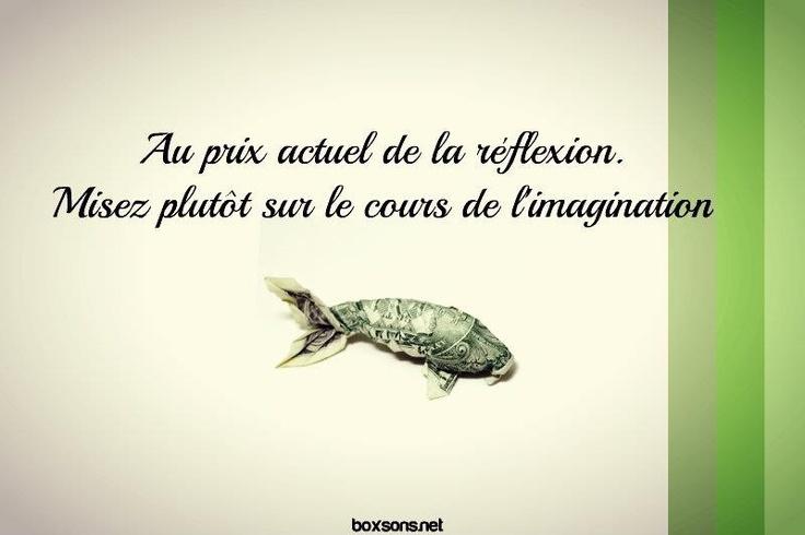 Visuel by Boxsons - #fish, #poisson, #dollar, #imagination
