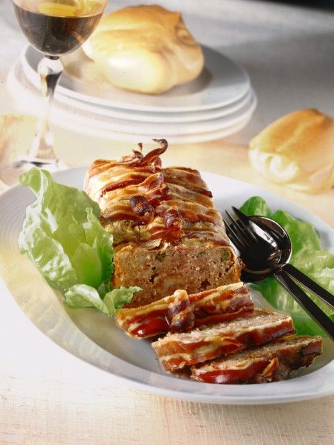 Polpettone speziato con fagiolini e pancetta affumicata-preview