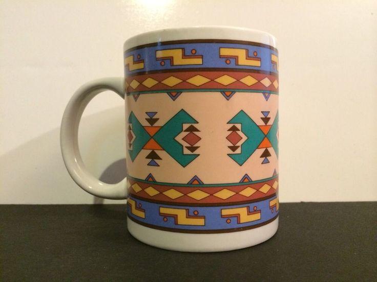 San Mateo, California Southwestern Pattern Studio Nova Coffee Cup Mug