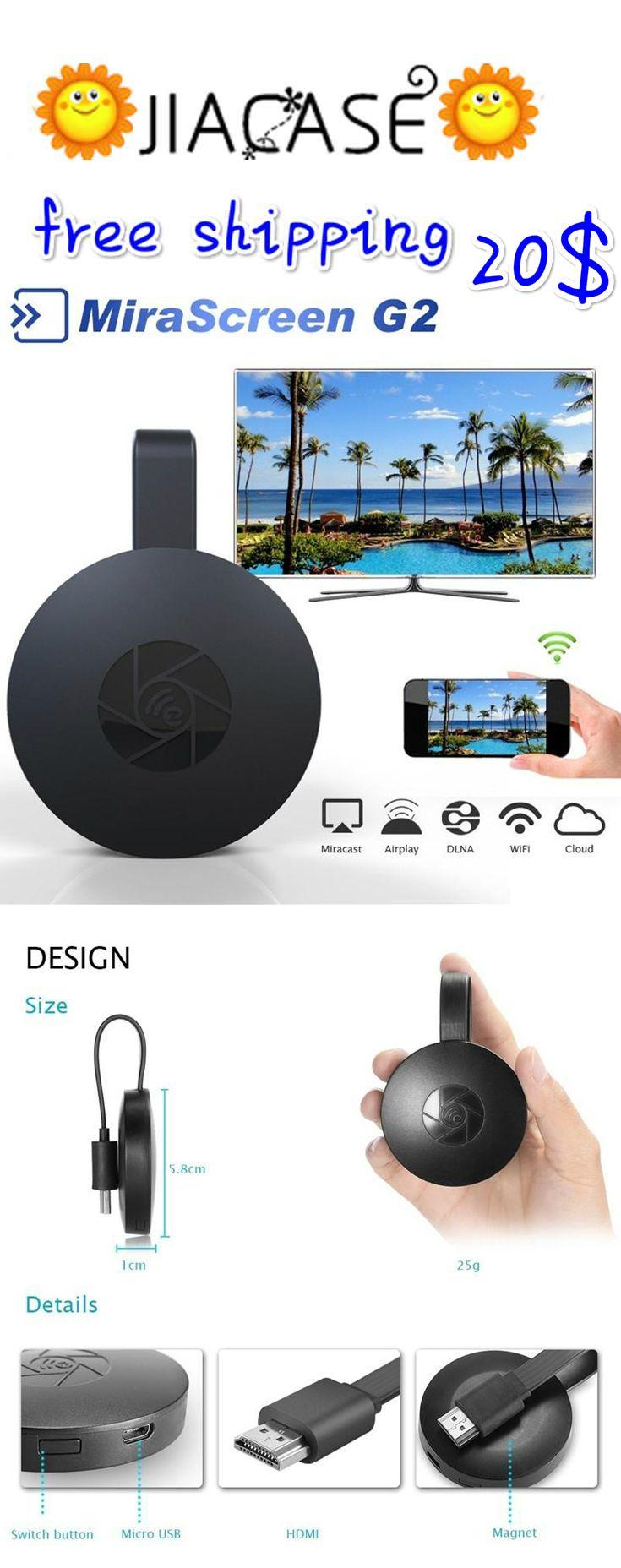 #MiraScreen G2 #Wireless #HDMI #Dongle #TV Stick 2.4G 1080P HD TV #Dongle #Plug And Play Chromecast Google Chromecast