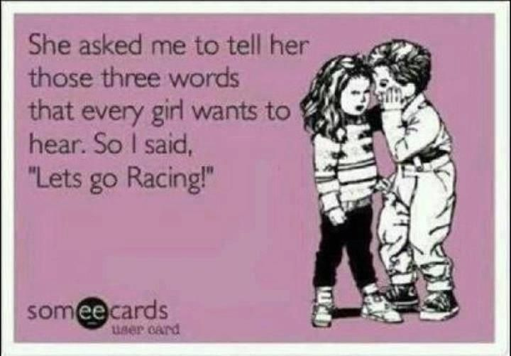 NASCAR is for girls too!!!