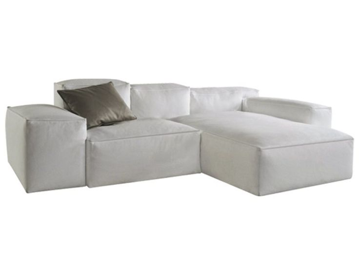 Sectional leather sofa CADENCE Les Contemporains Collection by ROCHE BOBOIS : design Hans Hopfer ...