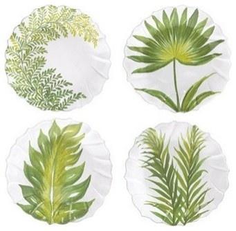 Pratos Desenhos Botânicos