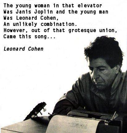 Leonard Cohen: Chelsea Hotel #2