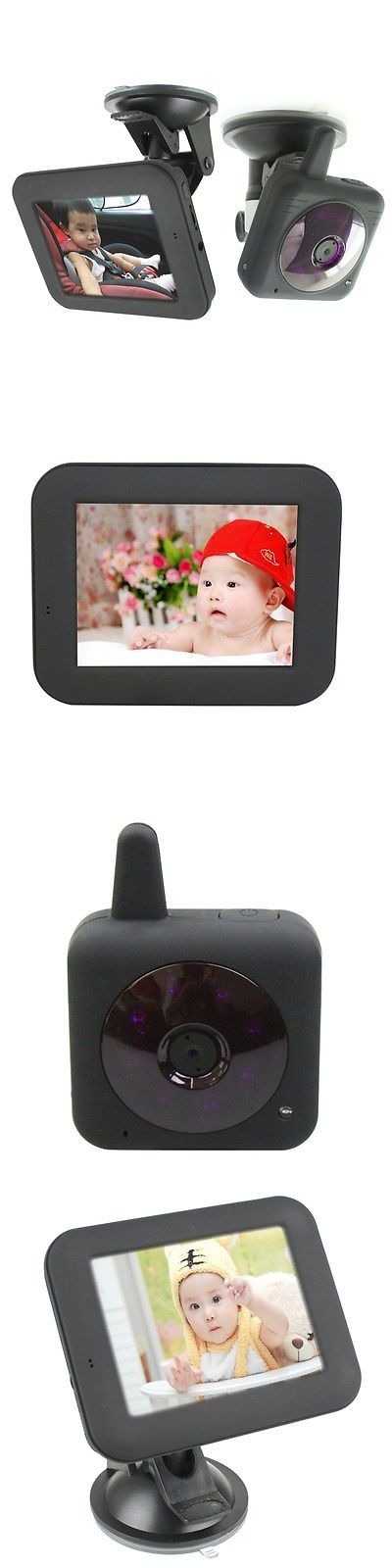 Other Car Electronics Accs: 2.4G Wireless Camera 3.5-Inch Video Audio Car Baby Monitor Ir Night Vision - Usa BUY IT NOW ONLY: $79.37