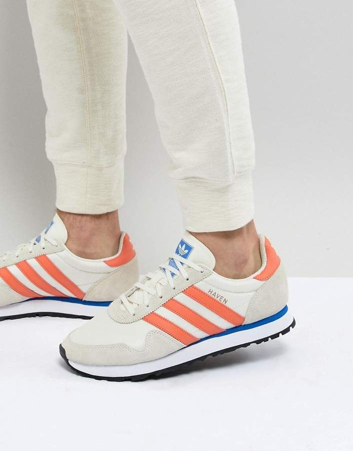 adidas Originals Haven Sneakers In White CQ3039 en 2020