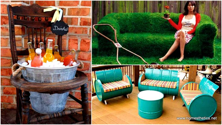 Our ideas today revolve around a favorite topic: DIY Backyard Furniture Ideas.