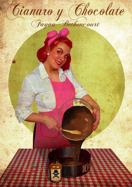 Iván Ruiz Solís (Iván RuSo). Ilustración & Cómic: Y ya en Lektu, Cianuro y Chocolate!!! Aquí tenéis ...