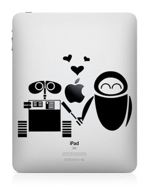 Wall e ipad decal ipad 2 decal ipad sticker macbook by sampledream 6 50