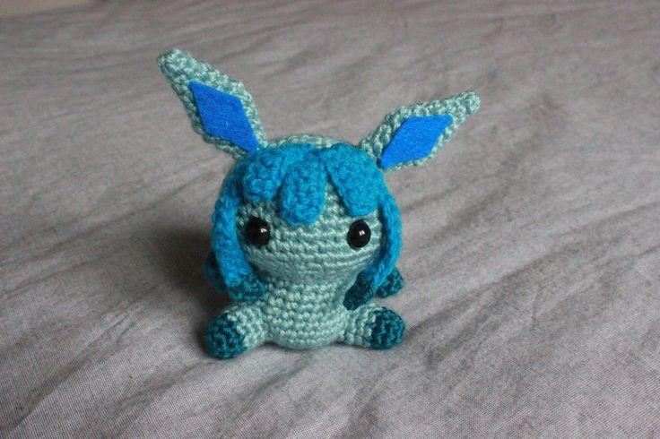 Free Glaceon Pokémon Amigurumi Pattern
