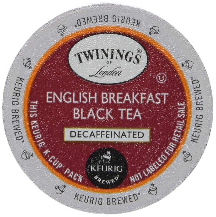 Twinings English Breakfast Decaf Tea 48-Count K-Cups for Keurig Brewers *** Check this awesome image  : K Cups