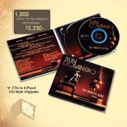 CDs in 4-Panel CD-Style Digipaks