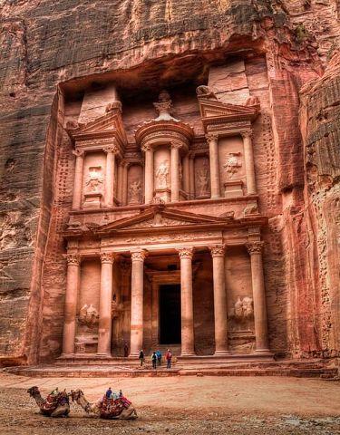Древний город Петра, Иордания