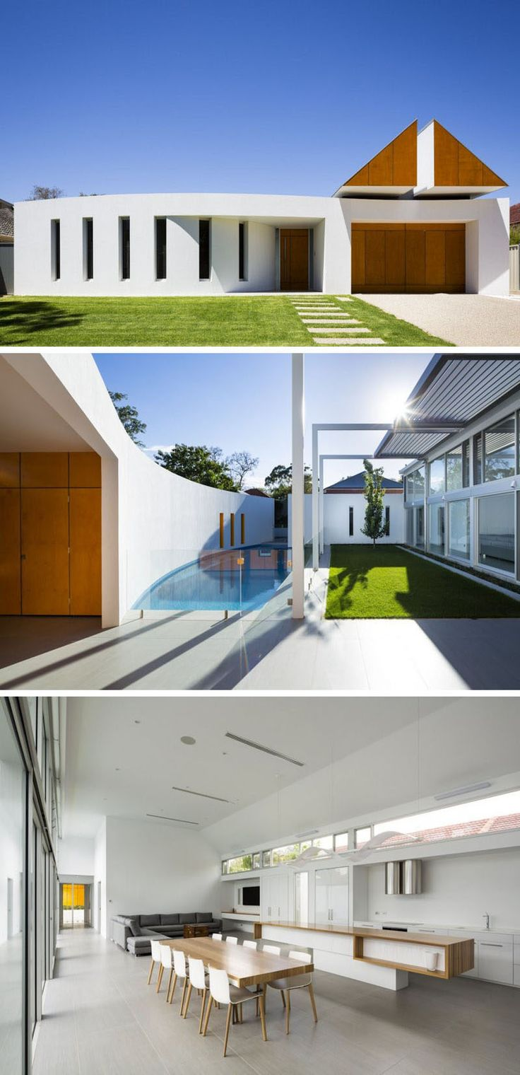 1000 images about fachadas on pinterest tadao ando le for Modern day houses
