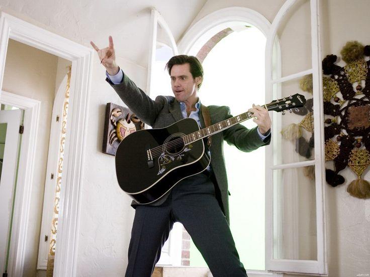 Да человек джим керри гитара фильм 32  x 24  картин wbp01024