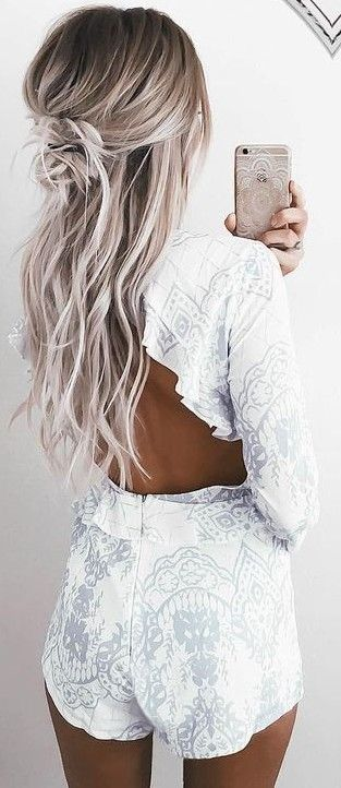 Lovely Pattern Playsuit                                                                             Source
