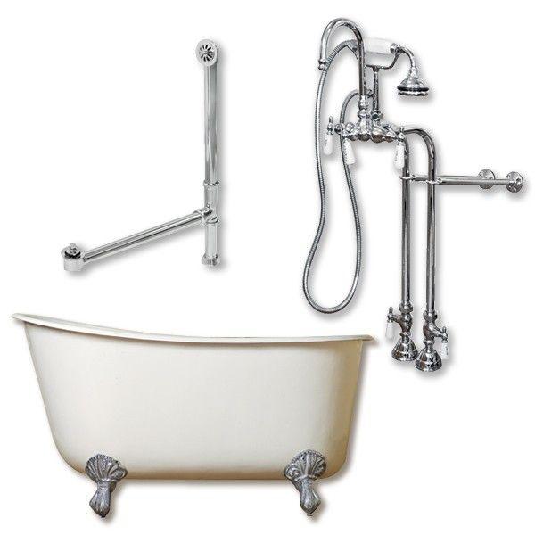 54 inch freestanding tub. 54 inch Cast Iron Swedish Tub Complete Plumbing Pkg  TTC398684 Gentry Best 25 bathtub ideas on Pinterest Penny tile floors