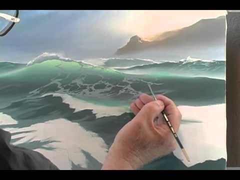 Видеоуроки живописи. Рисование моря