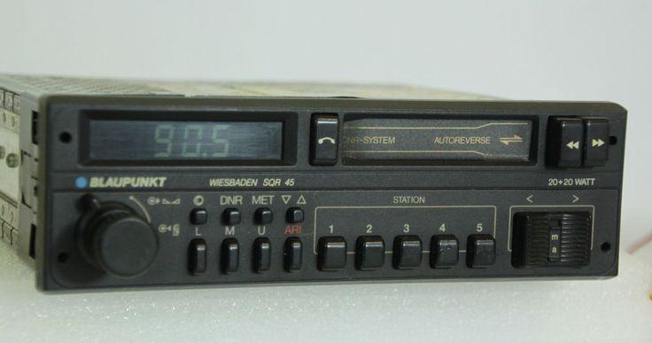 Vintage Blaupunkt WIESBADEN SQR 45 Casette FM Radio Ferrari Porsche BMW #Blaupunkt