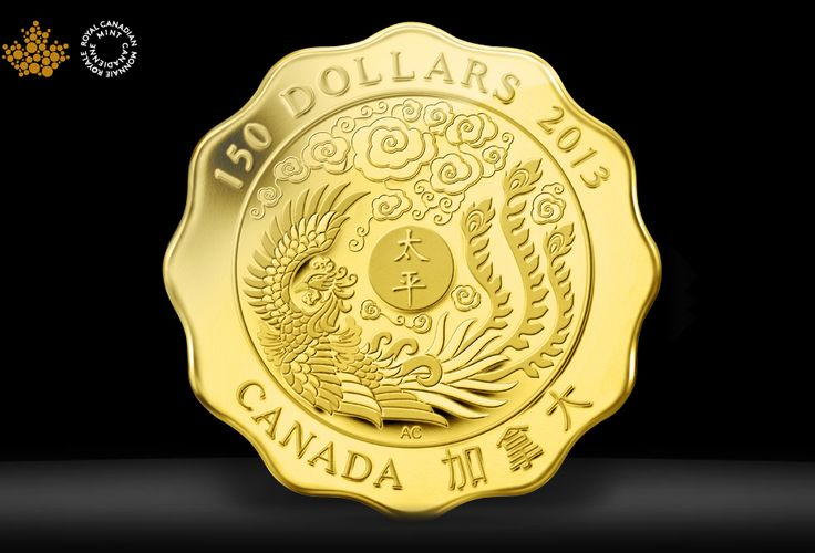 Phoenix coin design by Aries Cheung for Royal Canadian Mint