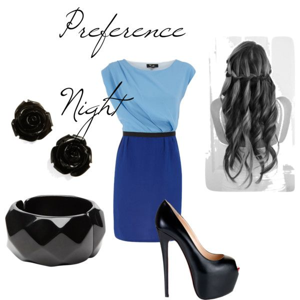 Preference Night, created by ohiousororities on Polyvore