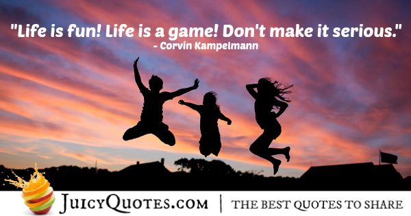 Quote About Life - Corvin Kampelmann