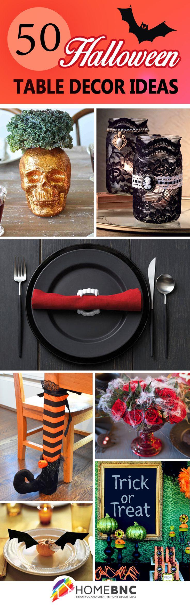 Best 25+ Halloween table decorations ideas on Pinterest ...