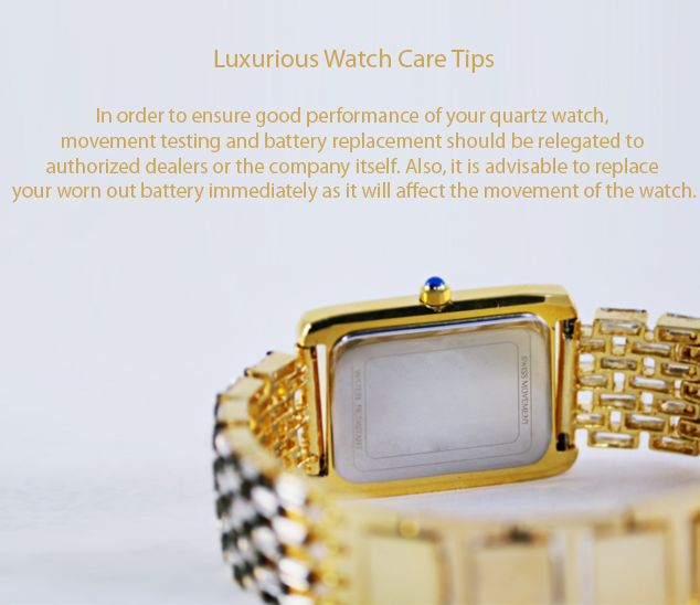 Luxurious watch care tips.  #WatchCareTips #Watches #TimeCare #Ahmedabad