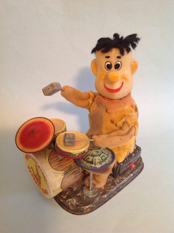 vintage toys flintstone boulder
