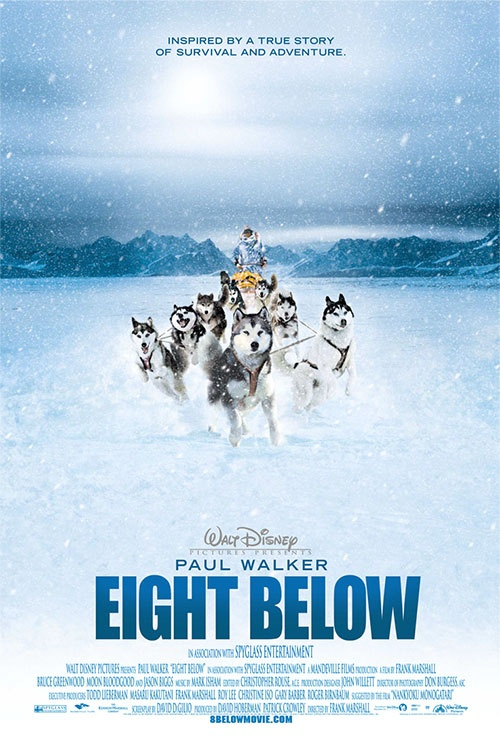 Eight Below -  amazing movie with an amazing actor and dogs. No eyes stay dry. Guaranteed. :D