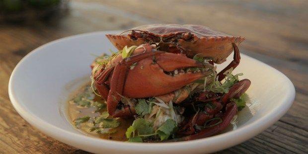 Mud Crab with Black Peppercorn Sauce