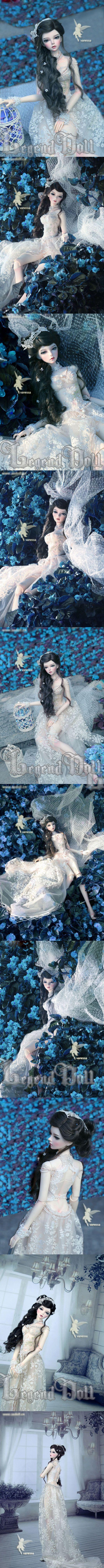 BJD Vanessa 63cm Girl Ball-jointed Doll_58 ~ 65cm doll_ASLEEP EIDOLON_DOLL_Ball Jointed Dolls (BJD) company-Legenddoll
