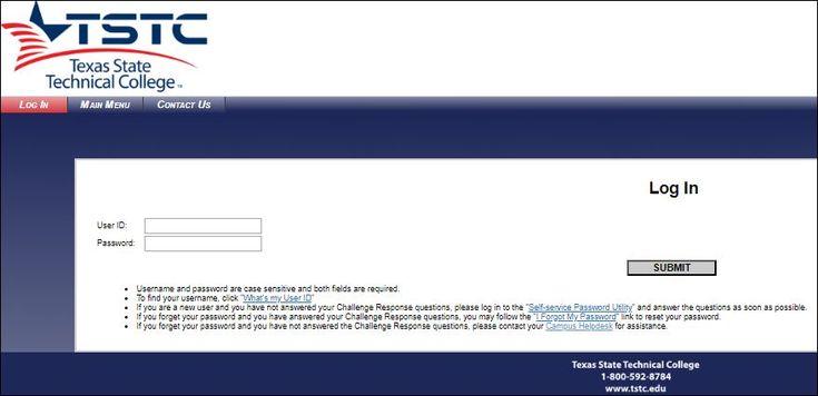 tstc webadvisor harlingen