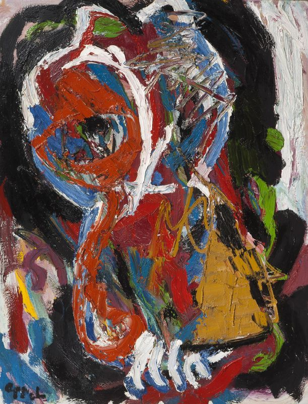 'Le Hibou' (1985) by Karel Appel