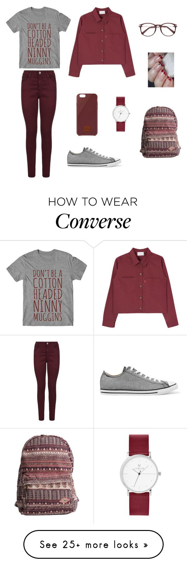 """Untitled #7"" by xxabella on Polyvore featuring AG Adriano Goldschmied, Native Union, Billabong and Converse"