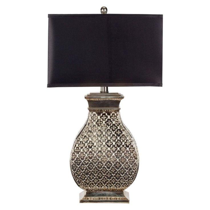 Safavieh Malaga 29-Inch H Silver Table Lamp - Silver