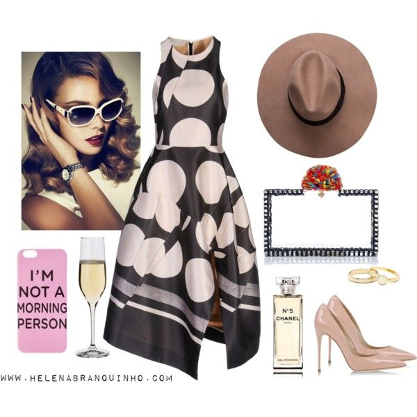 I'm not a morning person!... by helenabranquinho on Polyvore featuring moda, STELLA McCARTNEY, Dolce&Gabbana, Chanel, Dartington Crystal, look, mood and styling