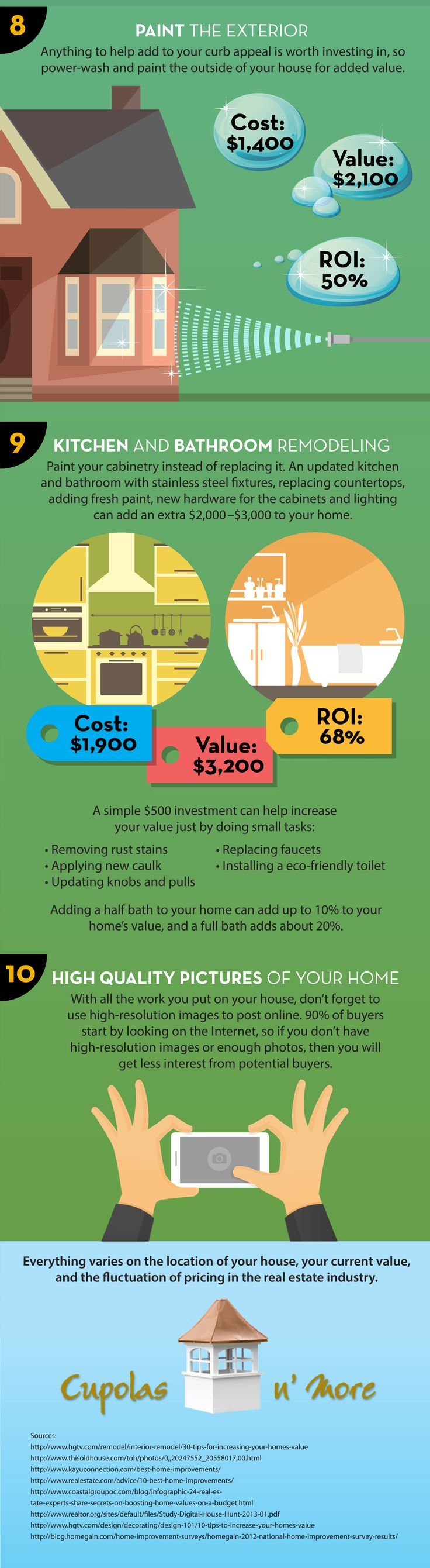 Learn How To.Increase The Value Of Your #Home - Part 3. -Remodeling Advisor #HomeOwnerTips