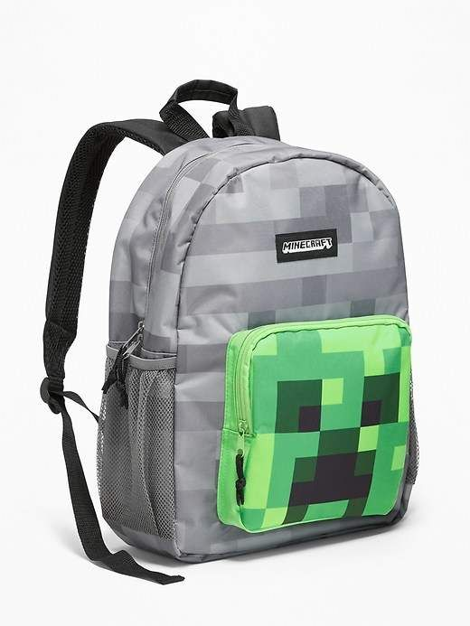 7109ef9e65c0 Minecraft Backpack for Kids  features MinecraftTM graphic