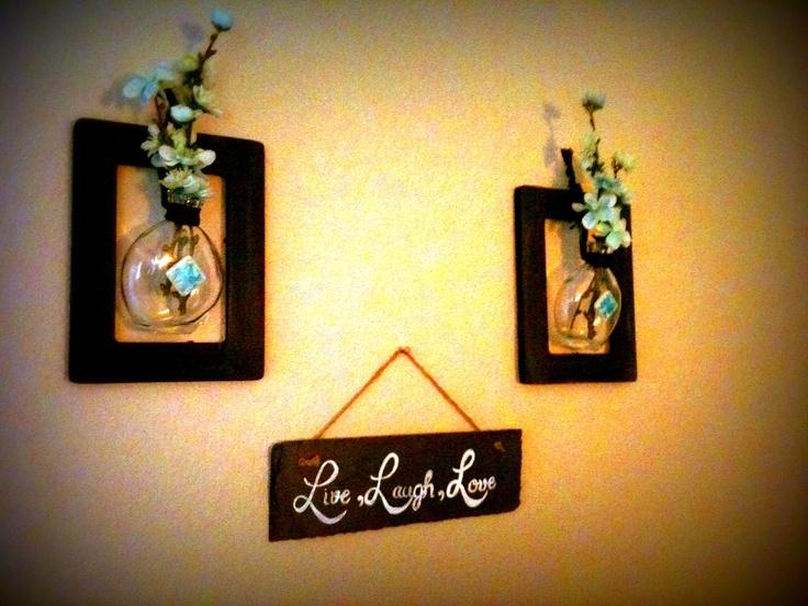 Wall Art Decor Michaels : Cute wall art frames each at michaels i just painted