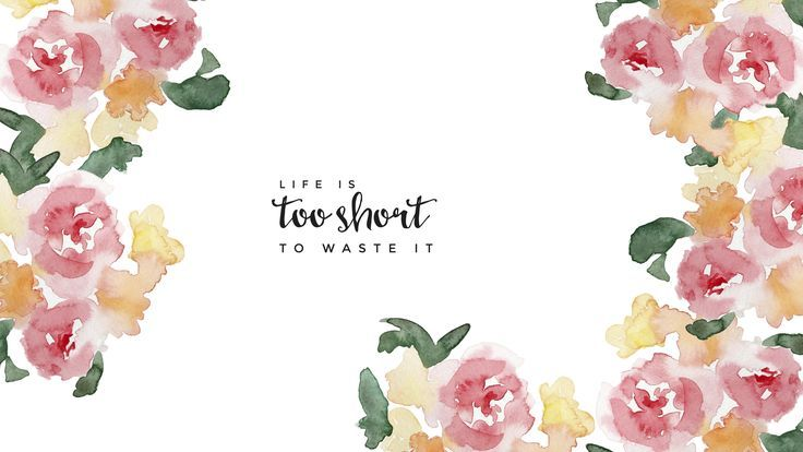 Free Imac Wallpaper Life Is Too Short To Waste It Quotes Typography Design Mac Com Imac Wallpaper Computer Wallpaper Desktop Wallpapers Wallpaper Notebook