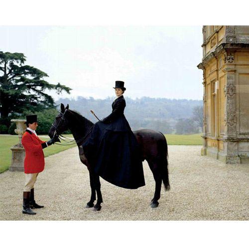 Downton Abbey fox hunting