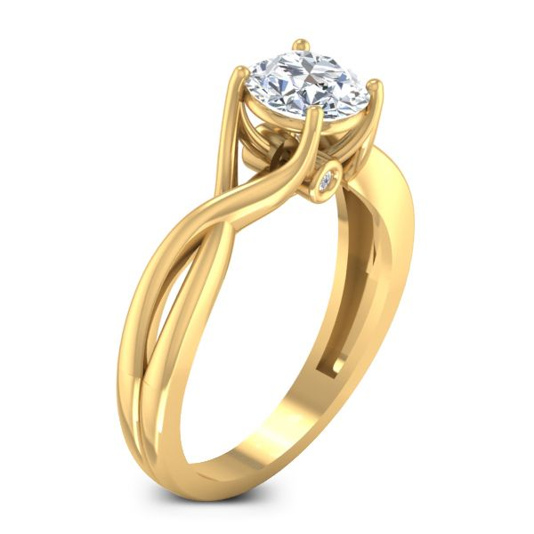 Sunrise Solitaire Ring solitaire ring