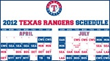 Has the entirety of the Ranger's Schedule and what channel you can find it on. No more wondering :)