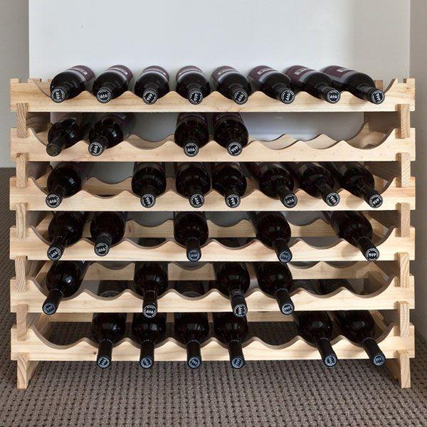 Wine Racks Wood   Wine Rack