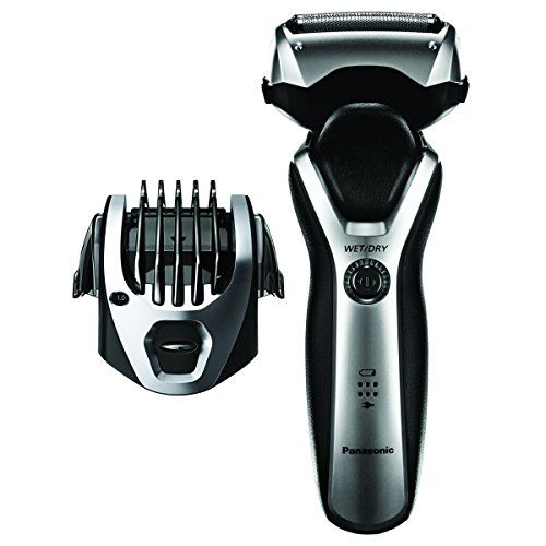 Panasonic ES-RT47-S Arc3 Electric Razor, Men's 3-Blade Cordless, Comb Trimming Attachment Included, Wet Dry Operation. For product & price info go to:  https://beautyworld.today/products/panasonic-es-rt47-s-arc3-electric-razor-mens-3-blade-cordless-comb-trimming-attachment-included-wet-dry-operation/