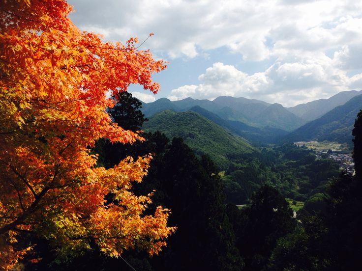 Yamadera in Yamagata Prefecture, Japan.